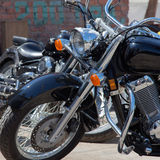 Tecnologia da motocicleta, um fragmento Imagens de Stock