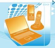 Tecnologia de comunicação Imagens de Stock Royalty Free