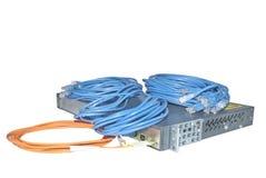 Tecnologia de comunicação da rede foto de stock