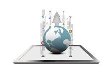 Tecnologia de comunicação global Imagens de Stock