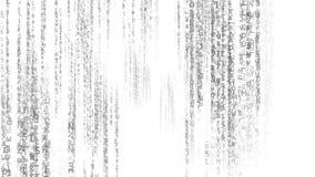 Tecnologia de Digitas do código de dados ilustração do vetor