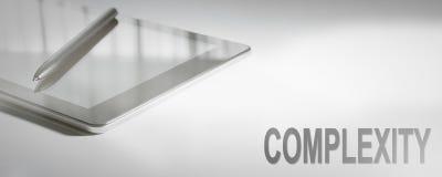 Tecnologia de Digitas do conceito do negócio da COMPLEXIDADE imagem de stock