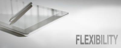 Tecnologia de Digitas do conceito do negócio da FLEXIBILIDADE imagens de stock