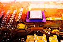 Tecnologia de material informático eletrônica fotos de stock
