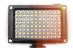 Tecnologia de reprodução de imagem da tela do diodo emissor de luz de colorido imagem de stock