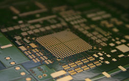 Tecnologia de SMT Imagens de Stock