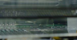 Tecnologia de superfície SMT da montagem Linha de Smt vídeos de arquivo