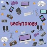 Tecnologia del fondo Immagine Stock Libera da Diritti