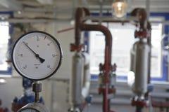 Tecnologia del giacimento di petrolio Immagini Stock