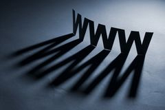 Tecnologia del Internet Fotografie Stock Libere da Diritti