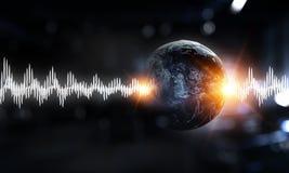 Tecnologia del suono fotografie stock libere da diritti