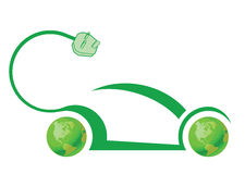 Tecnologia dell'automobile elettrica Immagine Stock