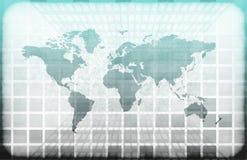 Tecnologia dell'informazione del mondo di Grunge royalty illustrazione gratis