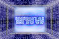 Tecnologia dell'informazione globale, illustrazione di stock