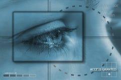 Tecnologia dell'occhio Immagini Stock