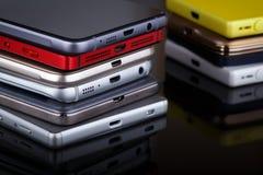 Tecnologia della comunicazione della radio del telefono cellulare immagini stock