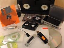 Tecnologia della registrazione Fotografie Stock Libere da Diritti