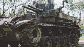Tecnologia destruída americano de NTrophy após a guerra do vietname Museus militares nacionais da guerra do vietname imagem de stock