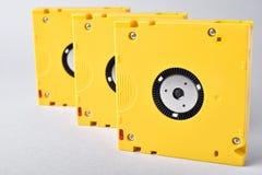 Tecnologia di archiviazione di dati del nastro magnetico LTO-10 Fotografia Stock Libera da Diritti