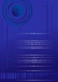 Tecnologia di codice binario di Digitahi Fotografie Stock