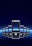 Tecnologia di comunicazione Fotografie Stock