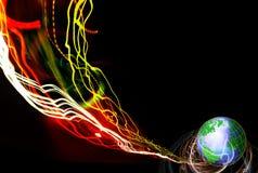 Tecnologia di comunicazione Immagine Stock
