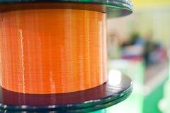 Tecnologia di comunicazione, prodotti ottici della fibra Immagine Stock Libera da Diritti