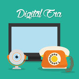 Tecnologia di era di Digital Fotografia Stock