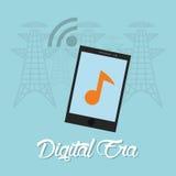Tecnologia di era di Digital Fotografie Stock