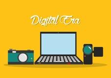 Tecnologia di era di Digital Fotografia Stock Libera da Diritti