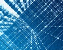 Tecnologia di fibra ottica Fotografia Stock