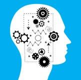 Tecnologia di futuro, intelligenza artificiale Immagini Stock Libere da Diritti