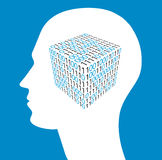 Tecnologia di futuro, intelligenza artificiale royalty illustrazione gratis