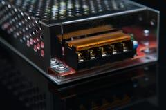 Tecnologia di ingegneria del trasformatore 12W di tensione Fotografia Stock Libera da Diritti