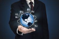 Tecnologia di Internet di Big Data fotografia stock