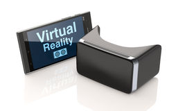 Tecnologia di realtà virtuale Immagini Stock Libere da Diritti
