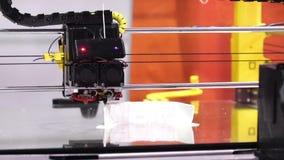 tecnologia di stampa della stampante 3d stock footage