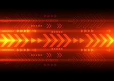 Tecnologia digital da velocidade do vetor, fundo abstrato Imagem de Stock