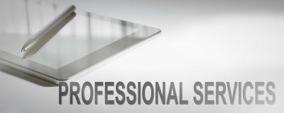 Tecnologia digitale di concetto di affari di SERVIZI PROFESSIONALI immagini stock