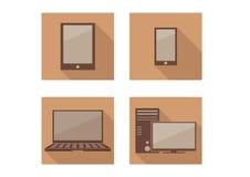 Tecnologia do ícone Fotos de Stock
