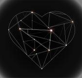 Tecnologia do coração Imagem de Stock Royalty Free