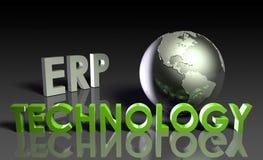 Tecnologia do ERP ilustração do vetor