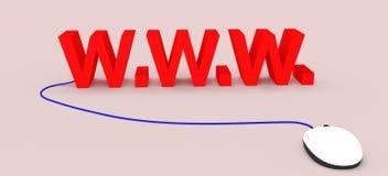 Tecnologia do Internet Imagem de Stock Royalty Free
