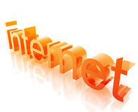 Tecnologia do Internet ilustração royalty free
