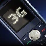 tecnologia do móbil 3G Foto de Stock