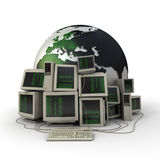 Tecnologia do mundo Imagem de Stock Royalty Free
