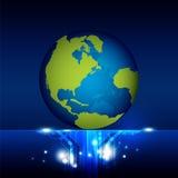 Tecnologia do mundo Fotos de Stock Royalty Free