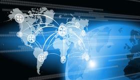 Tecnologia do mundo Imagens de Stock