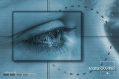 Tecnologia do olho Imagens de Stock