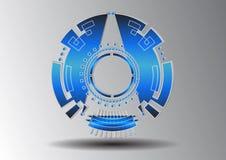 Tecnologia do símbolo abstrato Foto de Stock Royalty Free